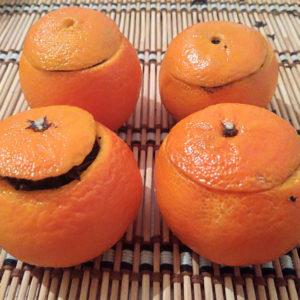 """Фото для статьи """"Чай в мандарине"""""""